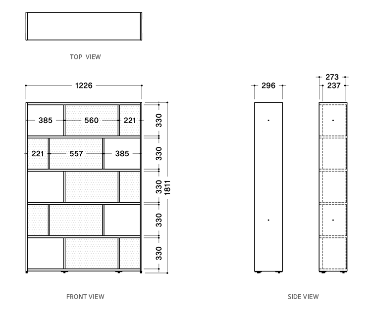 stack2.0 1200 5step orthographic view image